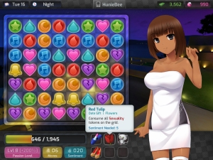 Huniepop Candy Cursh