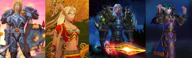 Elf Race Comparison