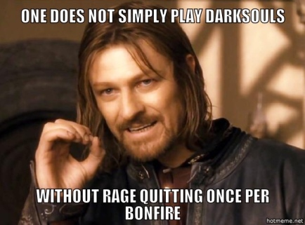 dark souls rage